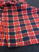 Navy Check Superior Picnic Rug additional 1