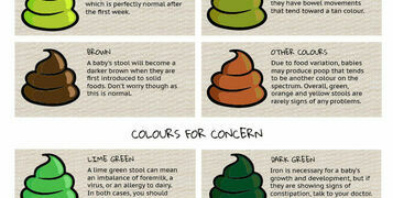 Baby Poo Colour Guide is now an Infographic!