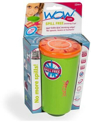 Wow Kids Spill Free Toddler Cup - Green