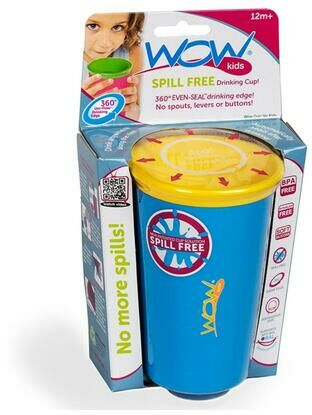 Wow Kids spill free toddler Cup - Blue