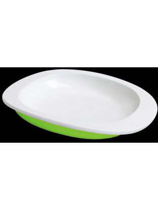 ToddlerTäble  Baby First Plate (flat) - Green