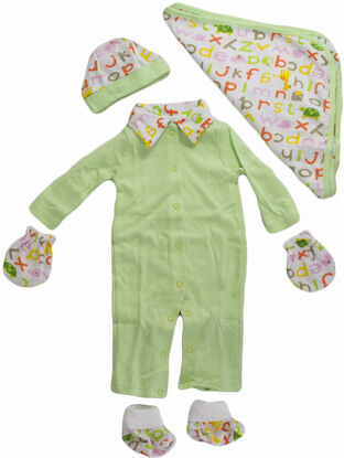 Palm and Pond Gift Set - ABC Green