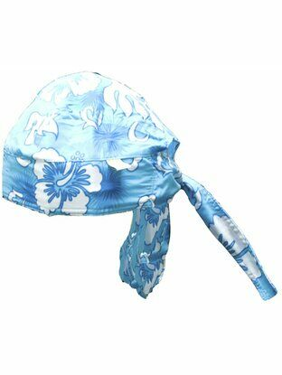 Baby UV Ray Protection Bandana - Blue Hawaii