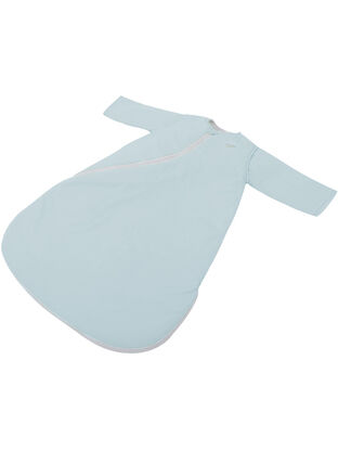 Purflo Plain Jersey Cotton Sleepsac 2.5 TOG French Blue - Variety of Sizes