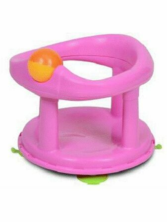 Swivel Bath Seat - Pink