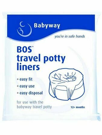 Babyway Disposable Travel Potty Liners x10
