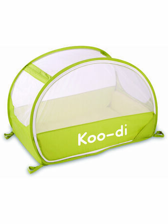 Koo-di Pop-Up Bubble Travel Cot - Lemon & Lime