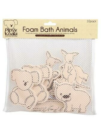 Pipsy Koala 10 Foam Bath Animals