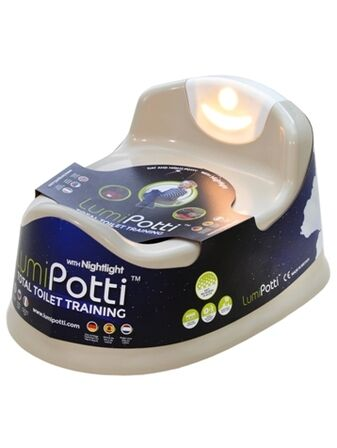 Lumi Potti Day and Night Potty with Nightlight - French Vanilla