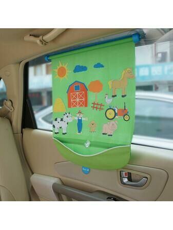 Koo-Di Car Window Fuzzi Fun Blind