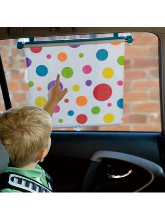 Koo-Di Car Window Blind Spotty Sun Shade