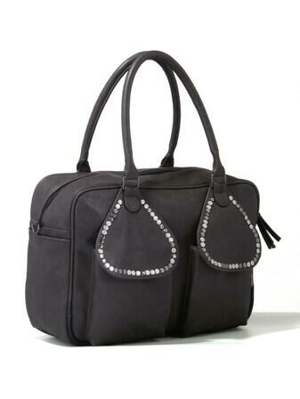 Tribal Changing Bag Luxury Changing Bay Saffier Anthracite