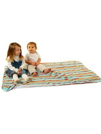 PHP Baby Waterproof Play Mat Supersize - Striped 100x150cm