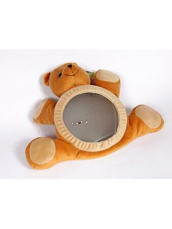 Happy Mummy BearView Baby Car Mirror - Tan