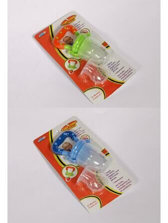 Baby Cubes Fresh Feeder Twin Pack with 2 Spare Silicone Teats