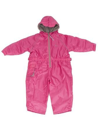 Hippychick Fleeced Lined Child\'s All in One Suit Pink