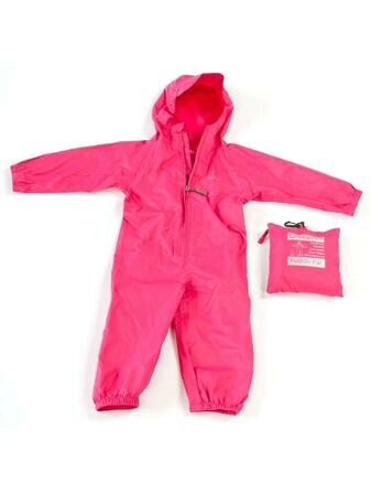 Hippychick 100% Waterproof Child Packasuit Pink