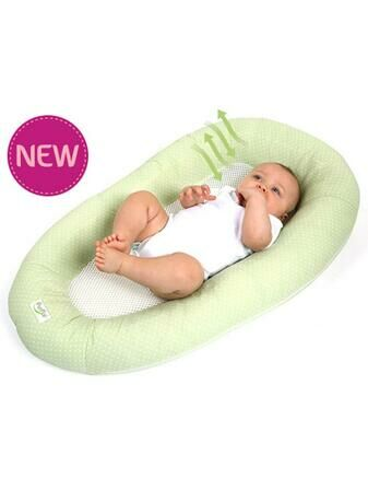 Purflo Breathable Baby Nest New Born - Moss Green
