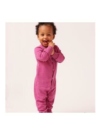 Justafit Adjustable Baby Sleepsuit - Mulberry - 2 Pack
