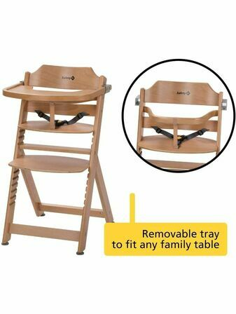 Safety 1st Timba Wooden Highchair Choose your style