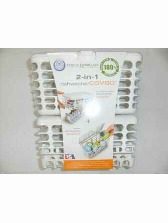 2-in-1 Infant and Toddler Dishwasher Basket Combo