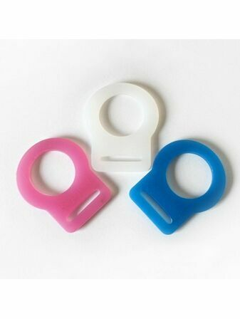 Silicon Adapter Rings for Ringless Dummies 2 Pack