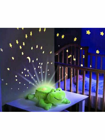 Slumber Buddies Mobile Night Light Projector - Freddie Frog Buddy