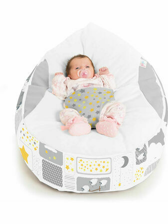 Gaga Cuddlesoft Pre-filled Baby Bean bag - Counting Sheep