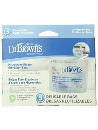 Dr Brown\'s Microwave Sterilizer Bags