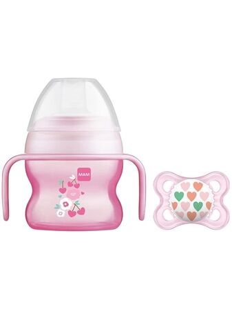 MAM Starter Cup 4+ months 150ml with FREE soother
