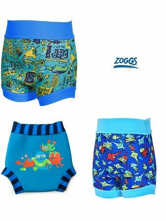 Zoggs Swimsure Nappy Blue - Choose your Style/Size