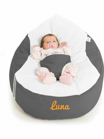 GaGa Pre-filled Baby Bean Bag - Sleepy Fox Design