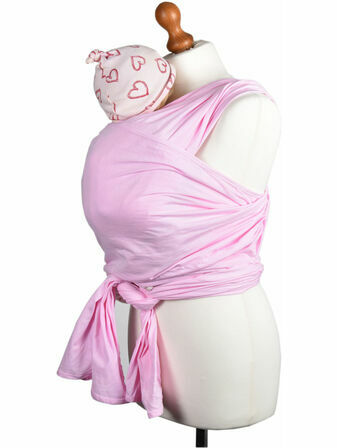 Palm & Pond Stretchy Wrap Sling Pink Baby Carrier