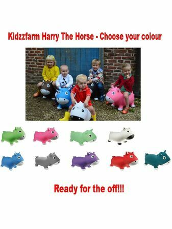Kidzzfarm Harry The Horse - Choose your colour