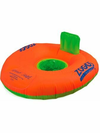 Zoggs Swim Trainer Seat in orange/green