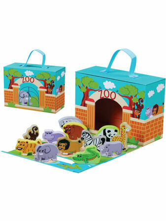 Jumini Foldaway Zoo Travel and Development Toy