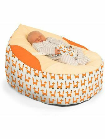 Luxury Cuddle Soft Little Fox Baby Bean Bag