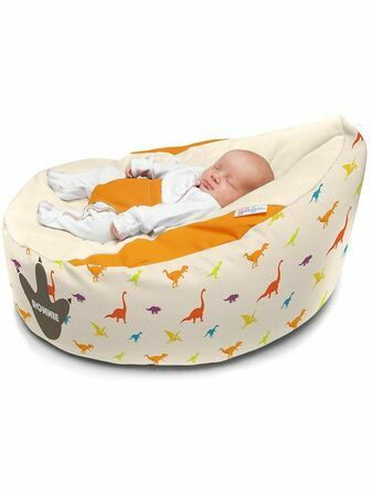 Luxury Cuddlesoft Dinosaur pre-filled Baby Bean Bag