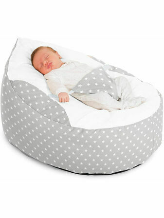 Luxury Cuddle Stars Baby Bean Bag - Choose your colour