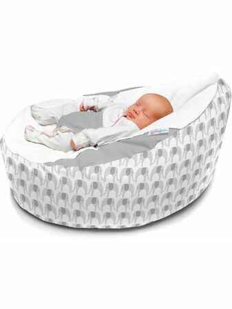 Luxury Cuddlesoft Elephant pre-filled Baby Bean Bag - Choose your Colour