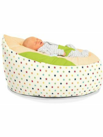 Rainbow Star Gaga™ Baby Beanbag - Choose your colour