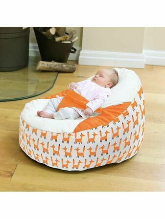 Cuddlesoft Gaga™+ Baby to Junior Beanbag Little Fox