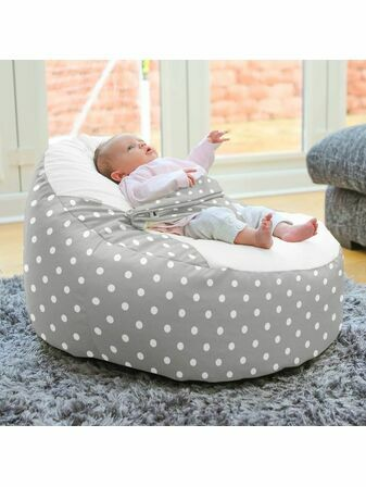 Polka Dot Gaga ™+ Baby to Junior Beanbag