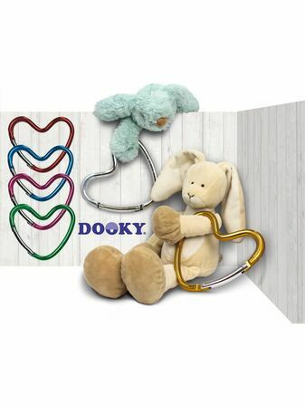 Dooky Buggy/Pram Heart Hook