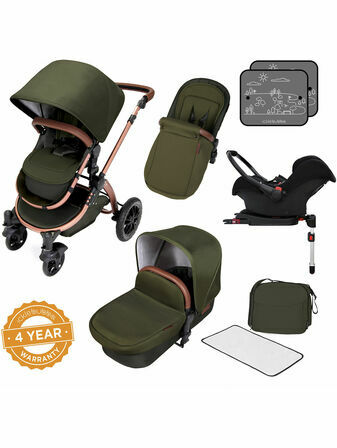 Ickle Bubba Stomp v4 Special Edition All In One Travel System With Isofix Base