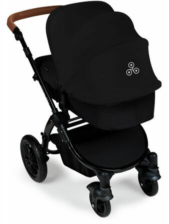 Ickle Bubba Stomp v3 All In One Travel System With 0+ Galaxy Car Seat and Isofix Base