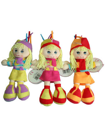AtoZ Jody My Jazzy Rag Doll Assorted Designs