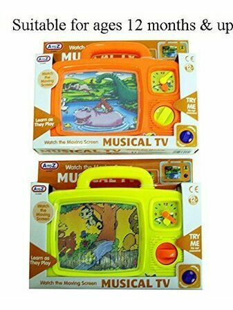 AtoZ Musical TV (2 assorted designs)