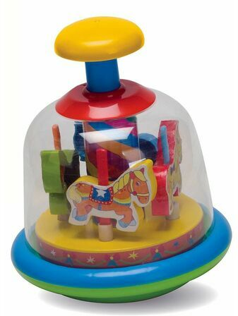 Fun Time Spinning Horses Merry-go-Round 6+ mths