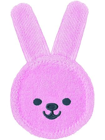 MAM Oral Care Rabbit, Microfibre Cloth for Cleaning Mouth and Gums
